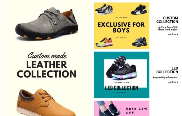 How to present an eCommerce store