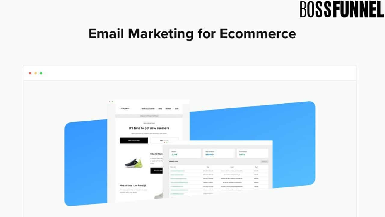 Email Marketing of ecommerce- Boss Funnel