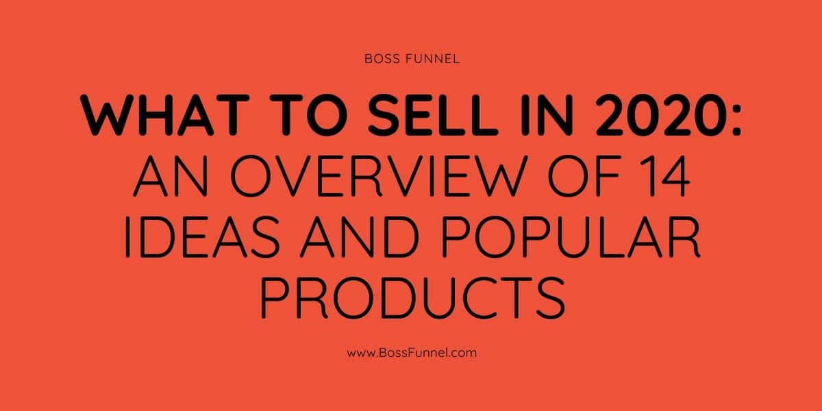 what to sell in 2020?