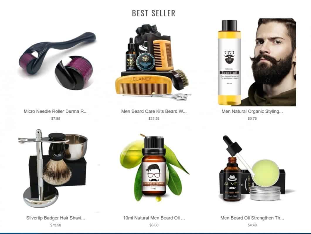 An overview of Beard Set store:  https://beardset.store/