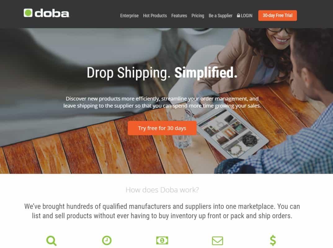 Doba.com- US based dropshipping supplier