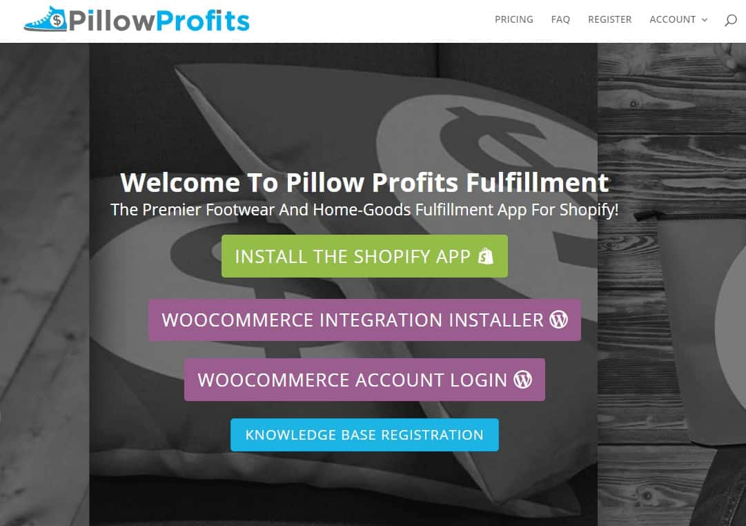 Pillow Profits- Best Dropshipping Apps with Shopify to Manage Inventory