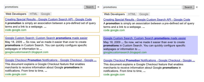 Google Custom Search Ads