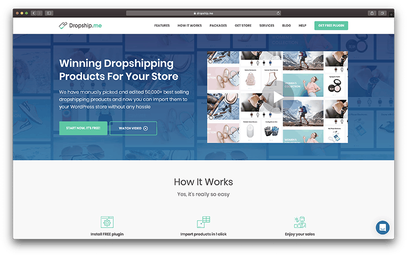 Dropship.me- Best Dropshipping Apps with Shopify to Manage Inventory