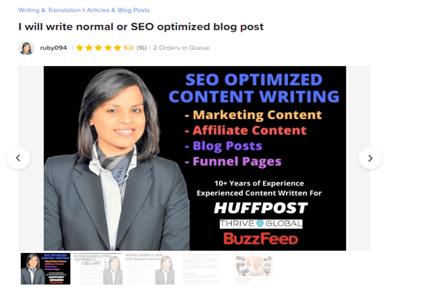 Get SEO friendly content writers for cheap