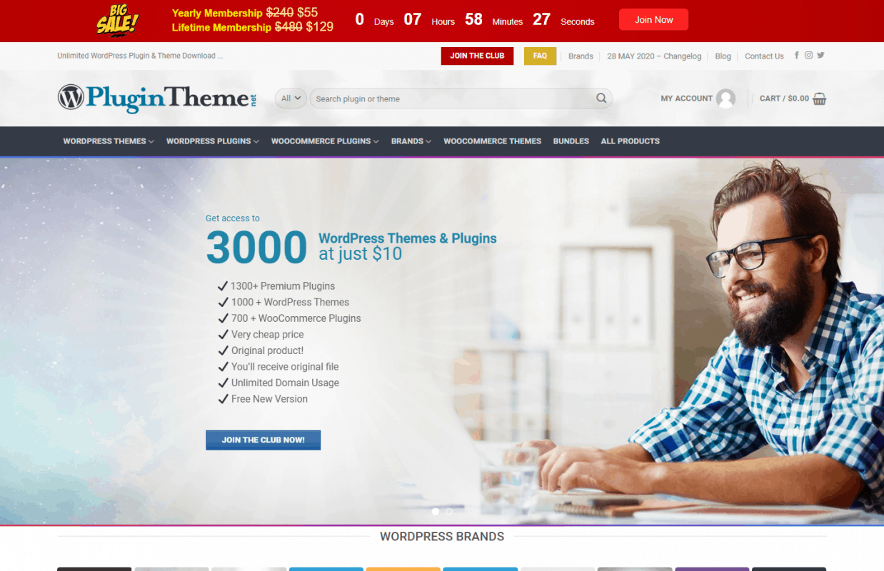 Free methods to get WordPress themes and plugins