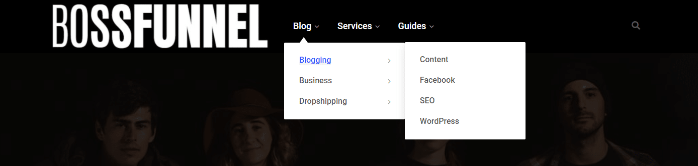 Google Adsense Policy Violation- How a primary menu should look like?